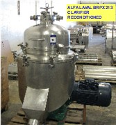 Alfa Laval BRPX 213 reconditioned centrifugal clarifier with deep sludge cover