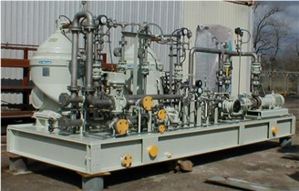 Iraq Repowering Gas Turbine Fuel Treatment System Alfa Laval MOPX 213 Centrifuges for General Electric LM 2500 turbines