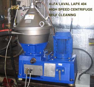 alfa laval lapx 404 clarifier centrifuge high g force separator from rh marstechusa com Alfa Laval Separator 855 Alfa Laval Parts
