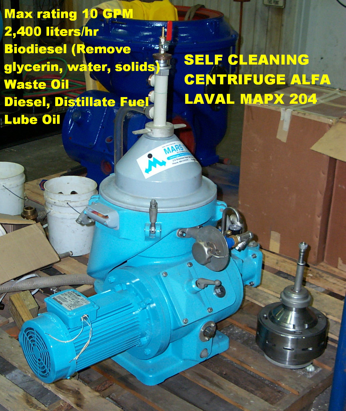 Alfa Laval BRPX 213 stainless steel, MAB 205, MAPX 204, ...